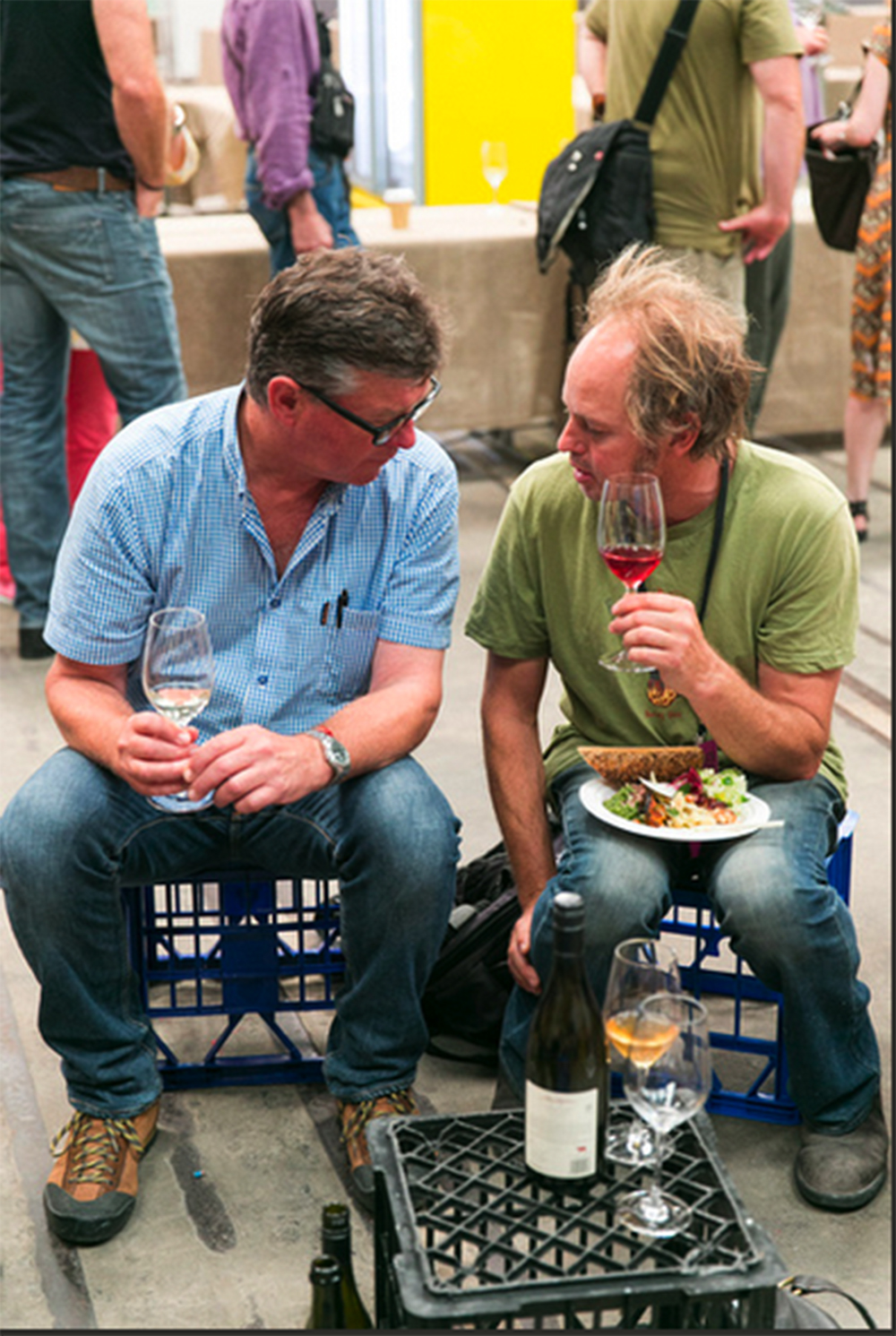 RootStock: natural wine pairing for local food movement