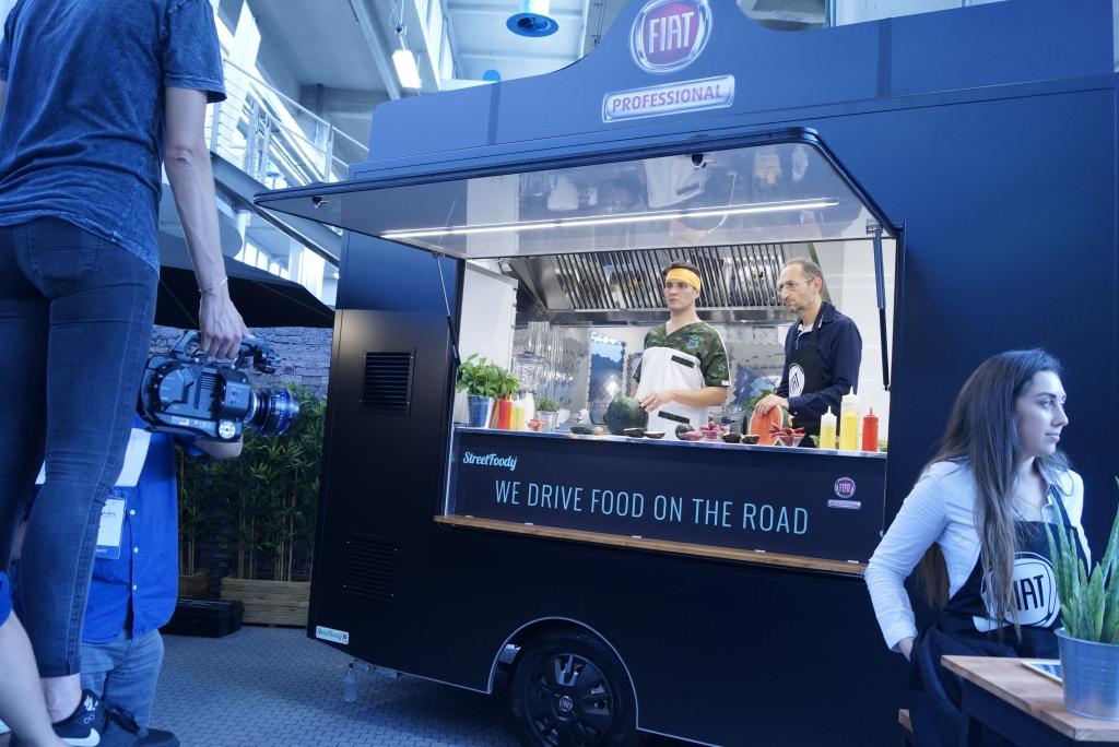 Fiat's new Food Truck