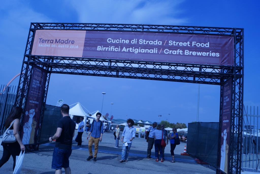 The Street Food area