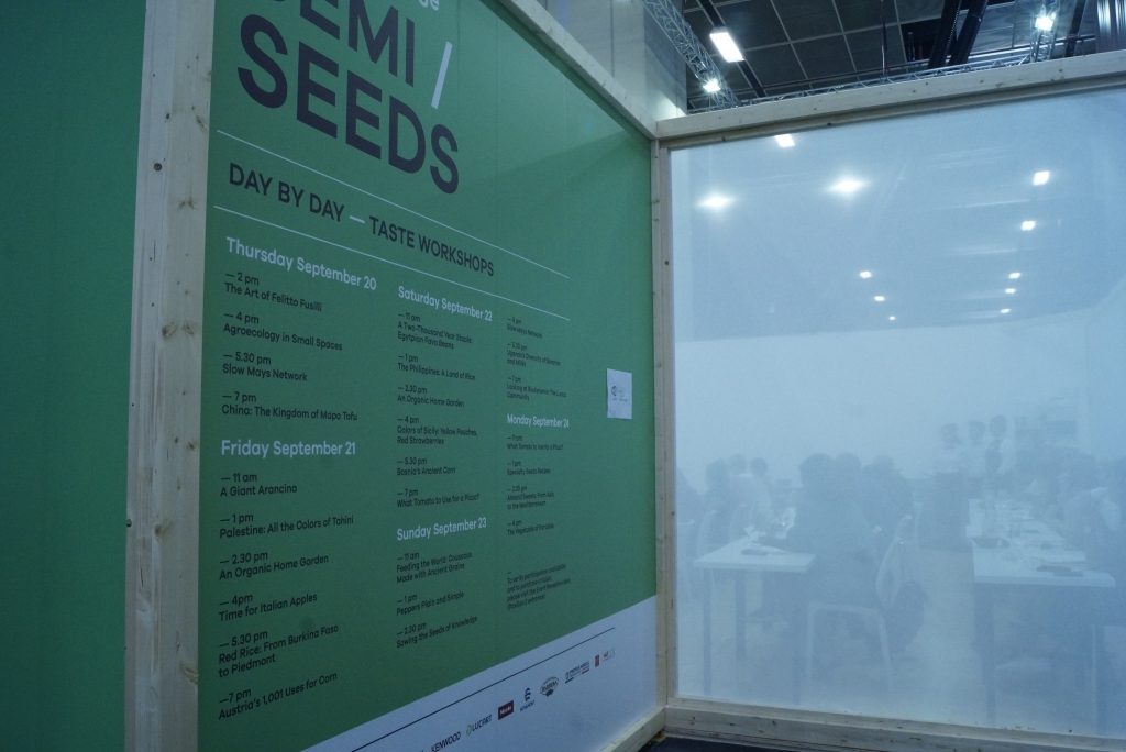 Seeds Workshop Agenda