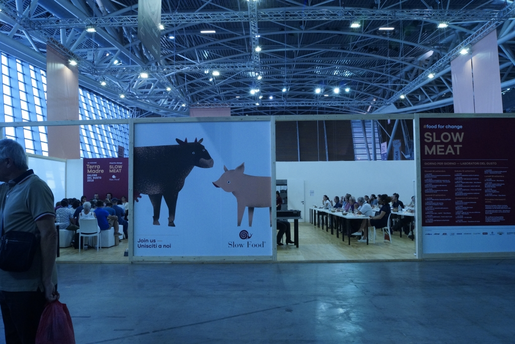 Meat Education Center: Conference on the left, taste education on the right