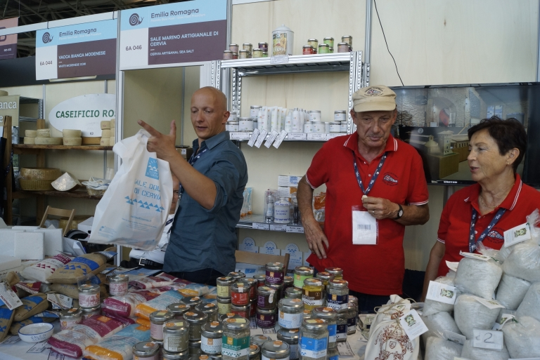 Volunteers and Businessmen of the Presidium Sale Dolce di Cervia