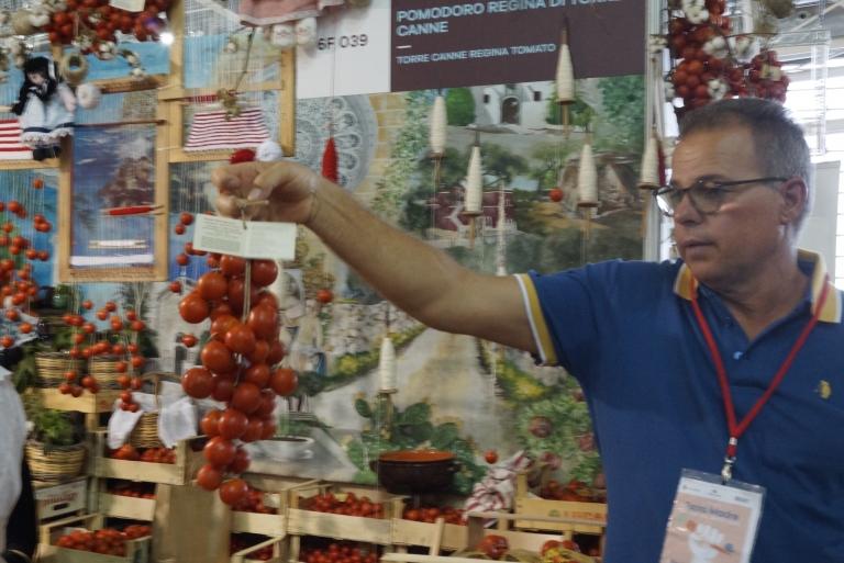 Presidium long-storage fresh tomatoes, Pomodoro Regina di Torre Canne, Puglia/Apulia