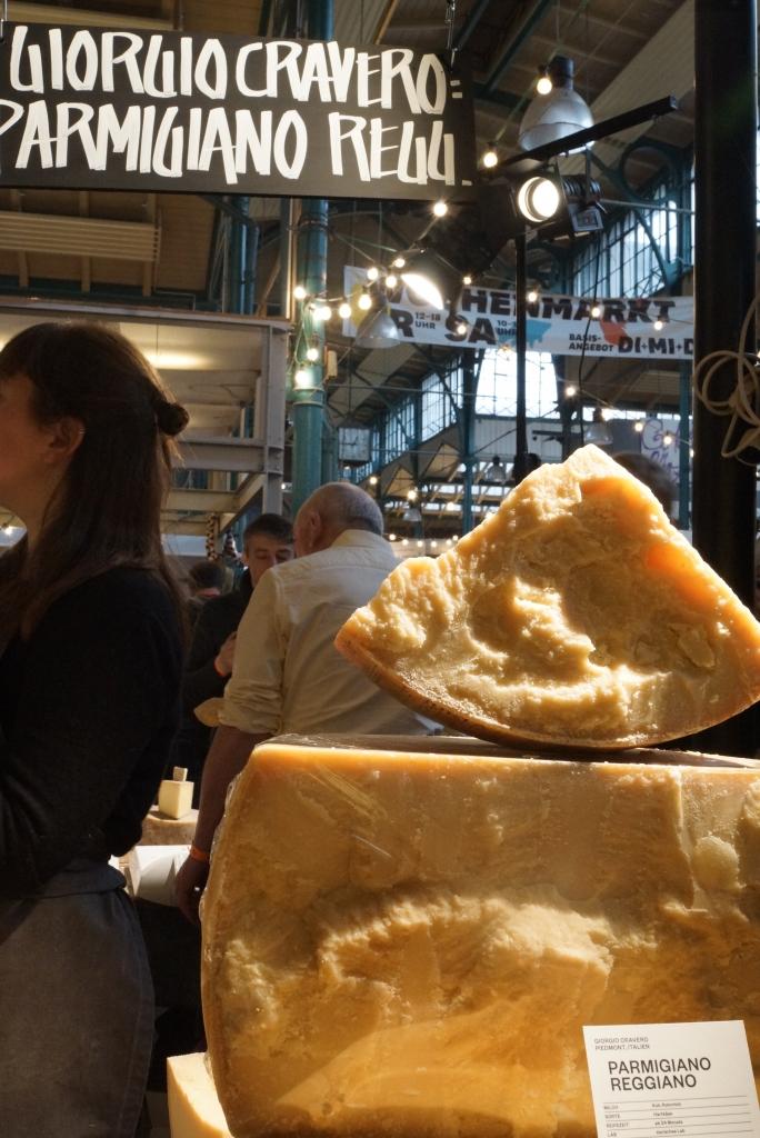Parmigianoa Reggiano DOP, at Cheese Berlin